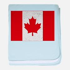 Canadian Flag Vintage baby blanket