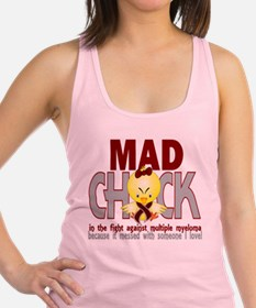 Cute Multiple sclerosis best friend Racerback Tank Top