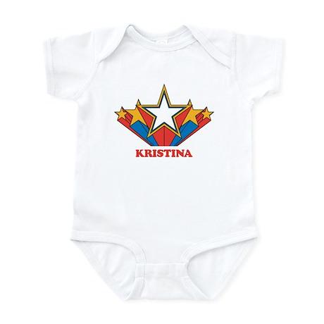 KRISTINA superstar Infant Bodysuit