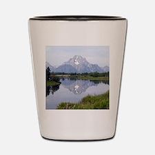 Mount Moran Shot Glass