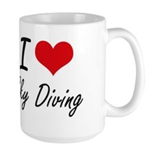 I love Sky Diving Mugs