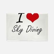 I love Sky Diving Magnets