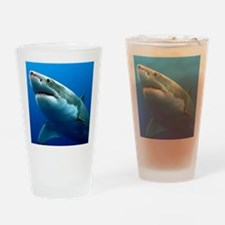 GREAT WHITE SHARK 3 Drinking Glass