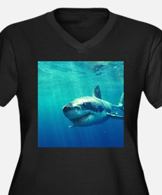 GREAT WHITE SHARK 1 Plus Size T-Shirt