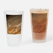 Voyager 1 Jupiter Red Spot Drinking Glass