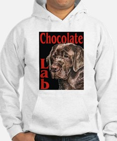 Chocolate Lab Urban Pop Hoodie