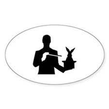 Magician top rabbit Decal