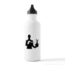 Magician top rabbit Water Bottle