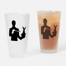 Magician top rabbit Drinking Glass