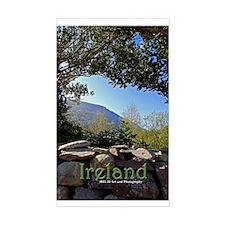 Ireland Moll's Gap Sticker (rectangle)
