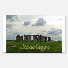 Stonehenge Sticker (rectangle)