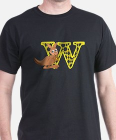 W is for Wallaby T-Shirt