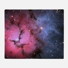 TRIFID NEBULA Throw Blanket
