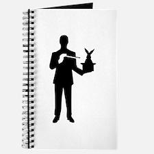 Magician bunny rabbit Journal
