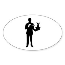 Magician bunny rabbit Decal