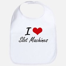 I love Slot Machines Bib
