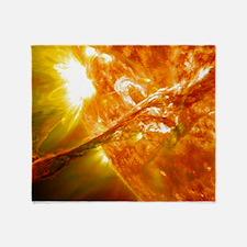 SOLAR FLARE 2 Throw Blanket