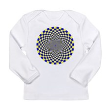 Optical Illusion Fractals Long Sleeve T-Shirt