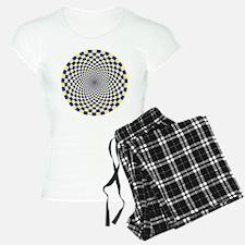 Optical Illusion Fractals Pajamas