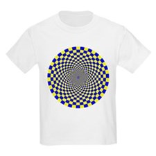 Optical Illusion Fractals T-Shirt