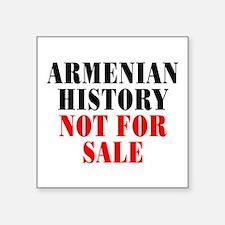 "Armenian history - Square Sticker 3"" x 3"""