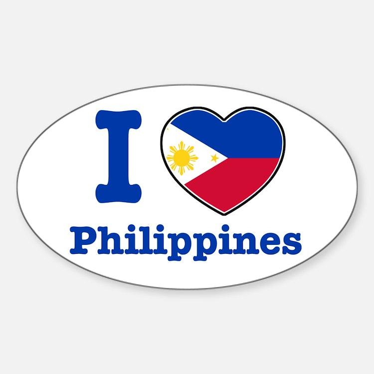 I Love Philippines Bumper Stickers Car Stickers Decals  More - Car sticker decals philippines