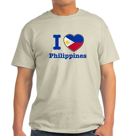 I love Philippines Light T-Shirt