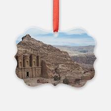 Petra Monastery Skylne Ornament