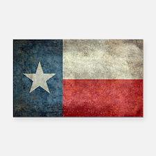 Texas state flag vintage retr Rectangle Car Magnet