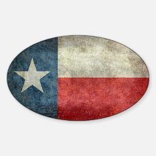 Texas state flag vintage retro styl Decal