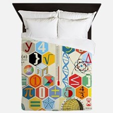 Unique Pi math Queen Duvet