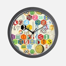 Funny Typography Wall Clock
