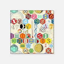 """Cute Math Square Sticker 3"""" x 3"""""""