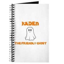 Kaden the Friendly Ghost Journal