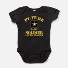 Future Army Soldier Like My Grandpa Baby Bodysuit