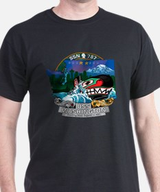 USS Washington SSN-787 T-Shirt