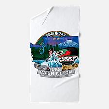 USS Washington SSN-787 Beach Towel