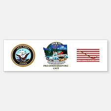 PCU Washington SSN-787 Bumper Bumper Sticker