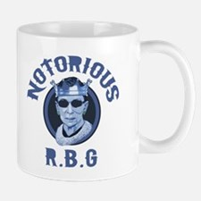 Notorious RBG III Small Small Mug