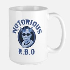 Notorious RBG III Large Mug