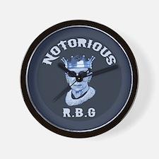 Notorious RBG III Wall Clock