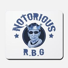 Notorious RBG III Mousepad