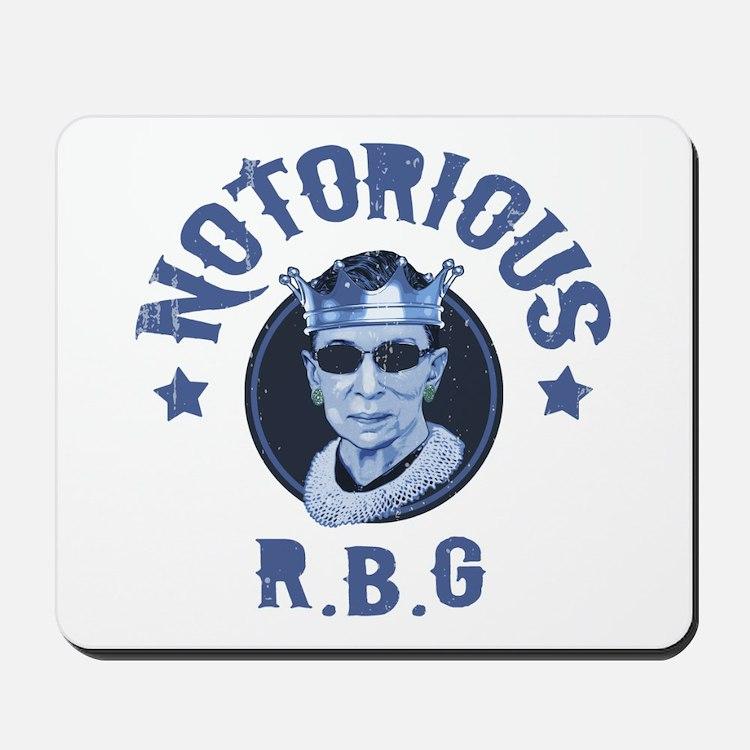 Notorious RBG III Mousepad