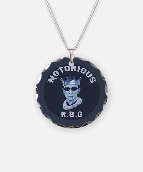 Notorious RBG III Necklace