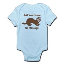 PERSONALIZED Ferret Graphic Body Suit