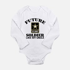 Future Army Soldier Li Long Sleeve Infant Bodysuit