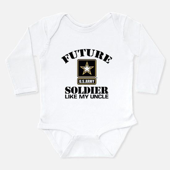 Future Army Soldier Li Long Sleeve Infant Bodysuit