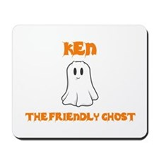 Ken the Friendly Ghost Mousepad