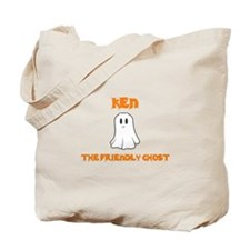 Ken the Friendly Ghost Tote Bag