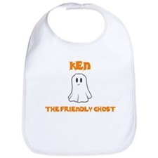 Ken the Friendly Ghost Bib